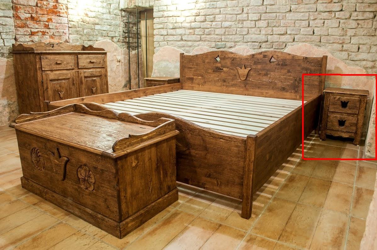 Tulipános hálószoba KIS éjjeli szekr.-bútor, Robi Bútor ...